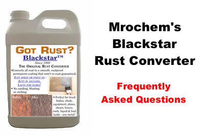 Black Star Rust Converter Can I Paint Over It