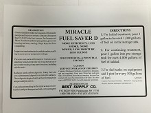 Miracle Fuel Saver D