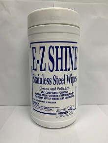 EZ Shine - Stainless Steel Towel Wipes